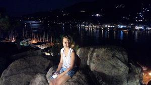 Dovolená, Poros, plavba na lodi, plachetnice, Řecko, moře