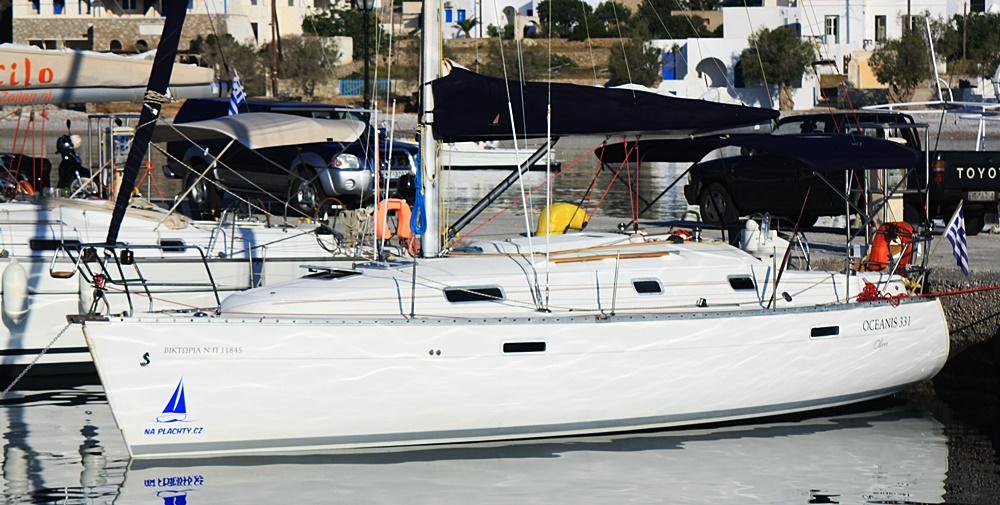 S plachetnicí Victoria si můžete užít dovolenou na moři v Řecku za levný peníz:-).