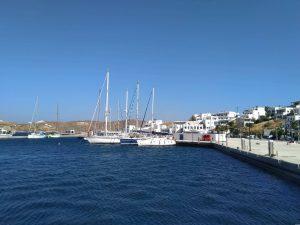 plachetnice, dovolená, plavba, Řecko, moře